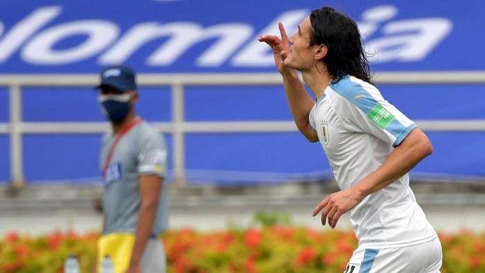 Edison Cavani Uruguay Eiminatorias Qatar 2022
