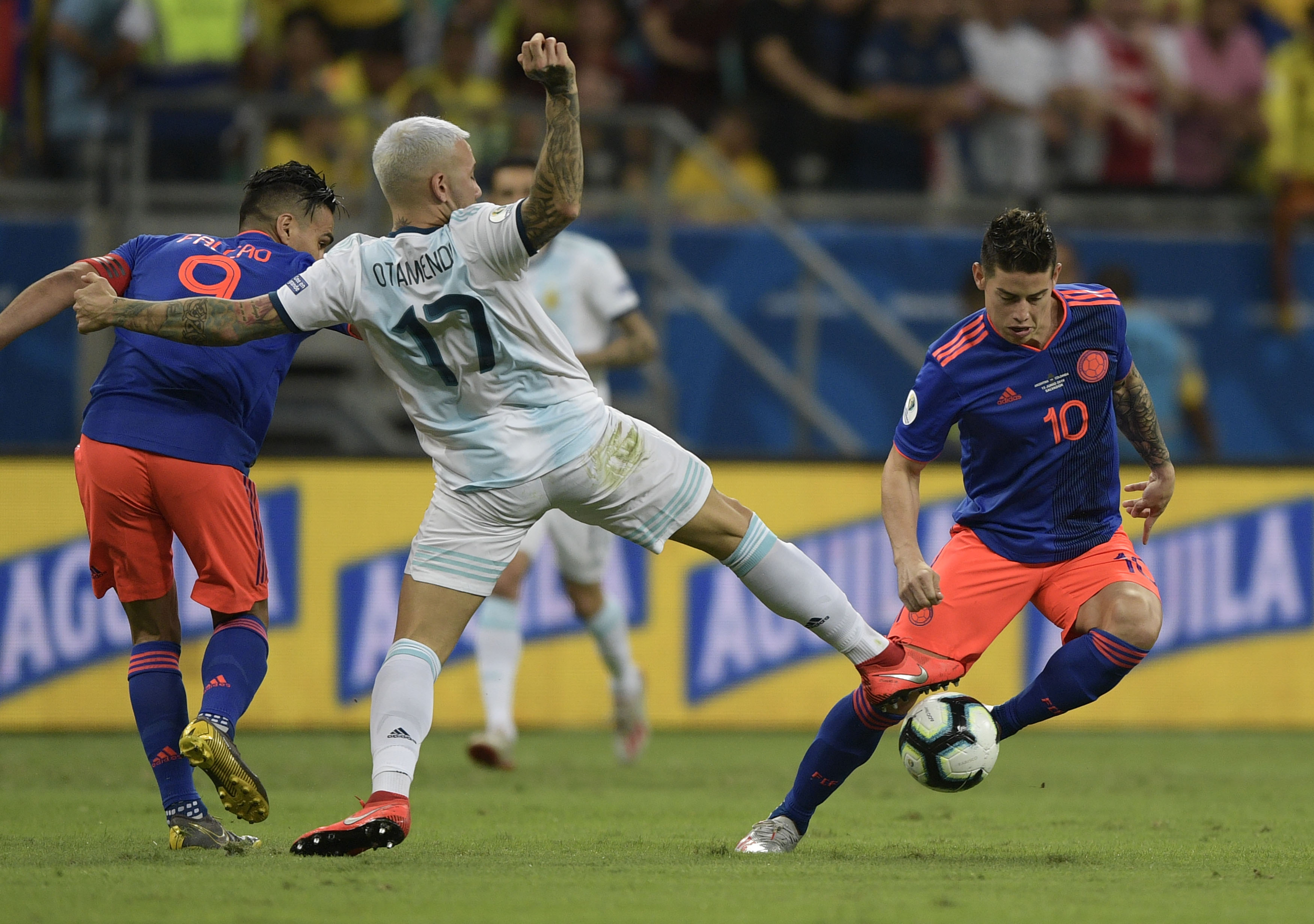 Otamendi Argentina Colombia Copa América