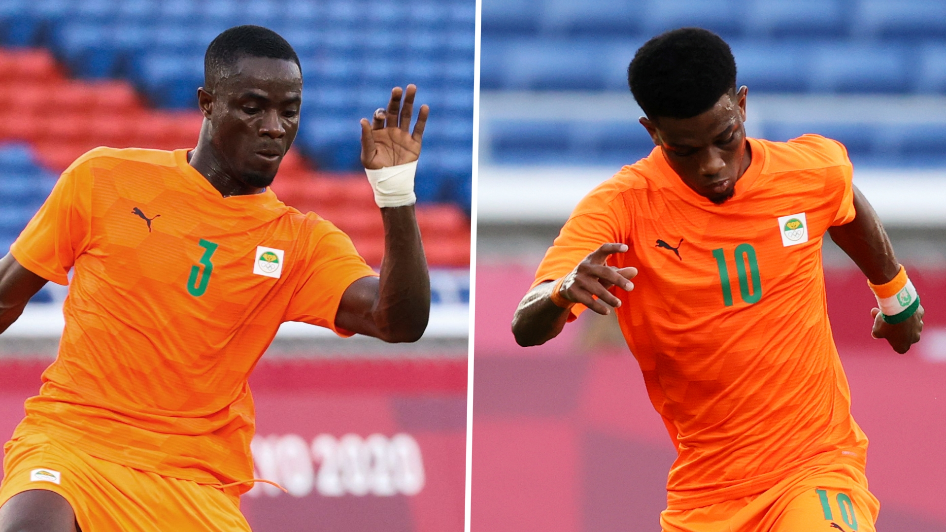 Bailly & Amad: Can Manchester United pair claim Olympic gold?