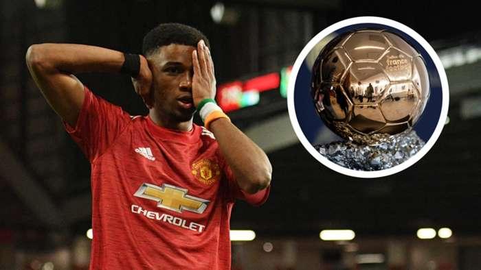 Amad Diallo Manchester United Ballon dOr GFX