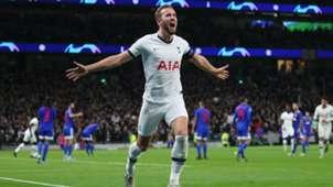 Harry Kane Goal Celebration Tottenham v Olympiacos 11262019