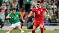 Wes Hoolahan Filip Kostic Republic of Ireland Serbia 05092017