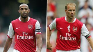 Thierry Henry, Dennis Bergkamp, Arsenal