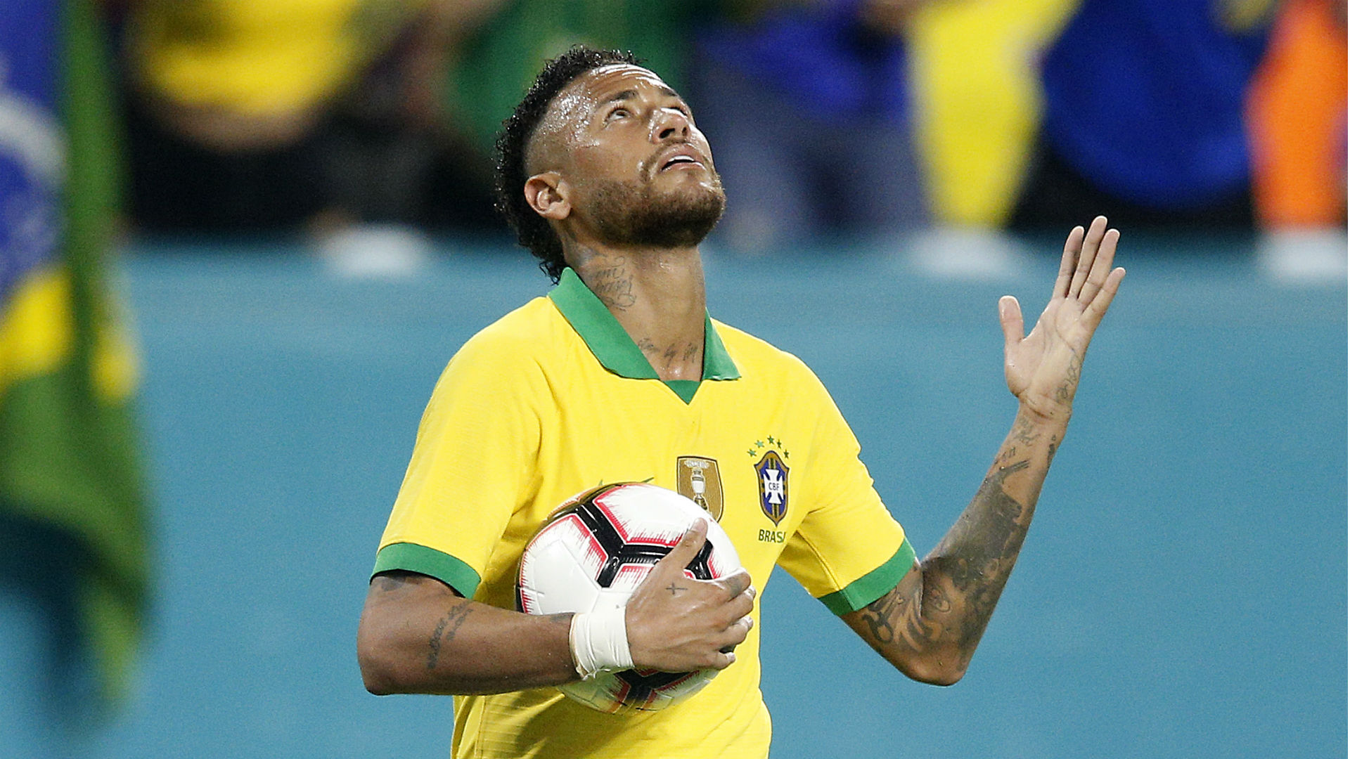 Neymar Brazil Colombia 06092019
