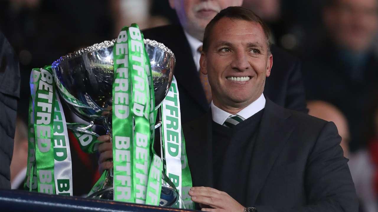 Brendan Rodgers Celtic League Cup