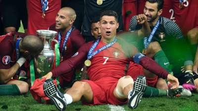 Cristiano Ronaldo Euro 2016 team of the tournament