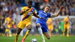Wifried Zaha Gary Cahill Chelsea Crystal Palace Premier League