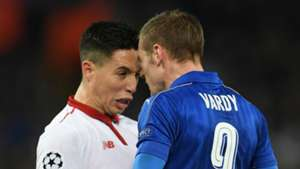 Samir Nasri Sevilla Jamie Vardy Leicester