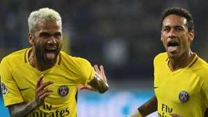 Dani Alves Neymar PSG