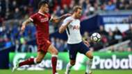 Dejan Lovren, Harry Kane, Tottenham Hotspur - Liverpool, Premier League 10222017