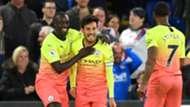 Man City celebrate vs Crystal Palace