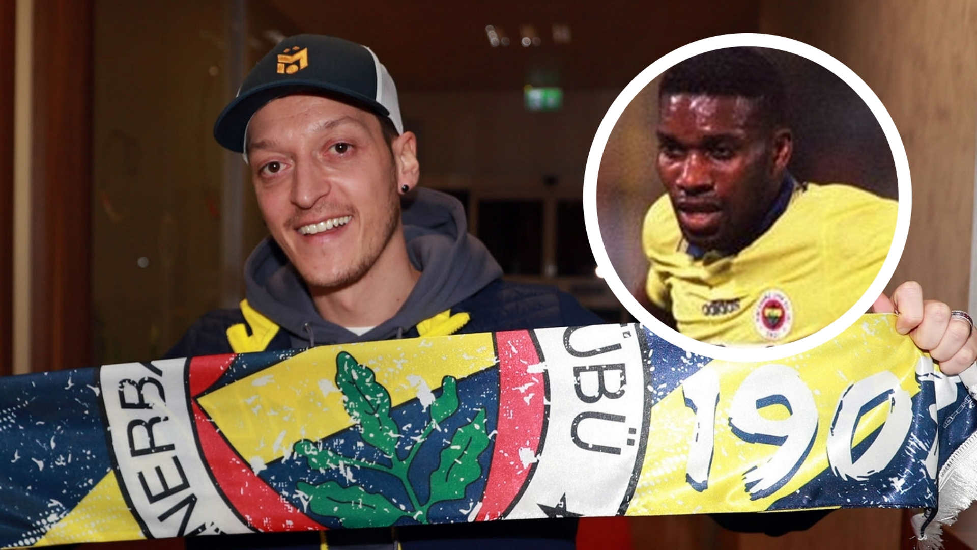 Ozil: Okocha was the Fenerbahce star I liked the most