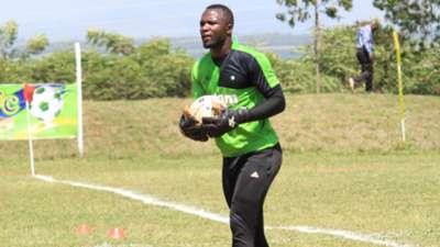 Mathare United keeper Levis Opiyo.
