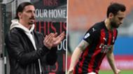 Hakan Calhanoglu & Zlatan Ibrahimovic