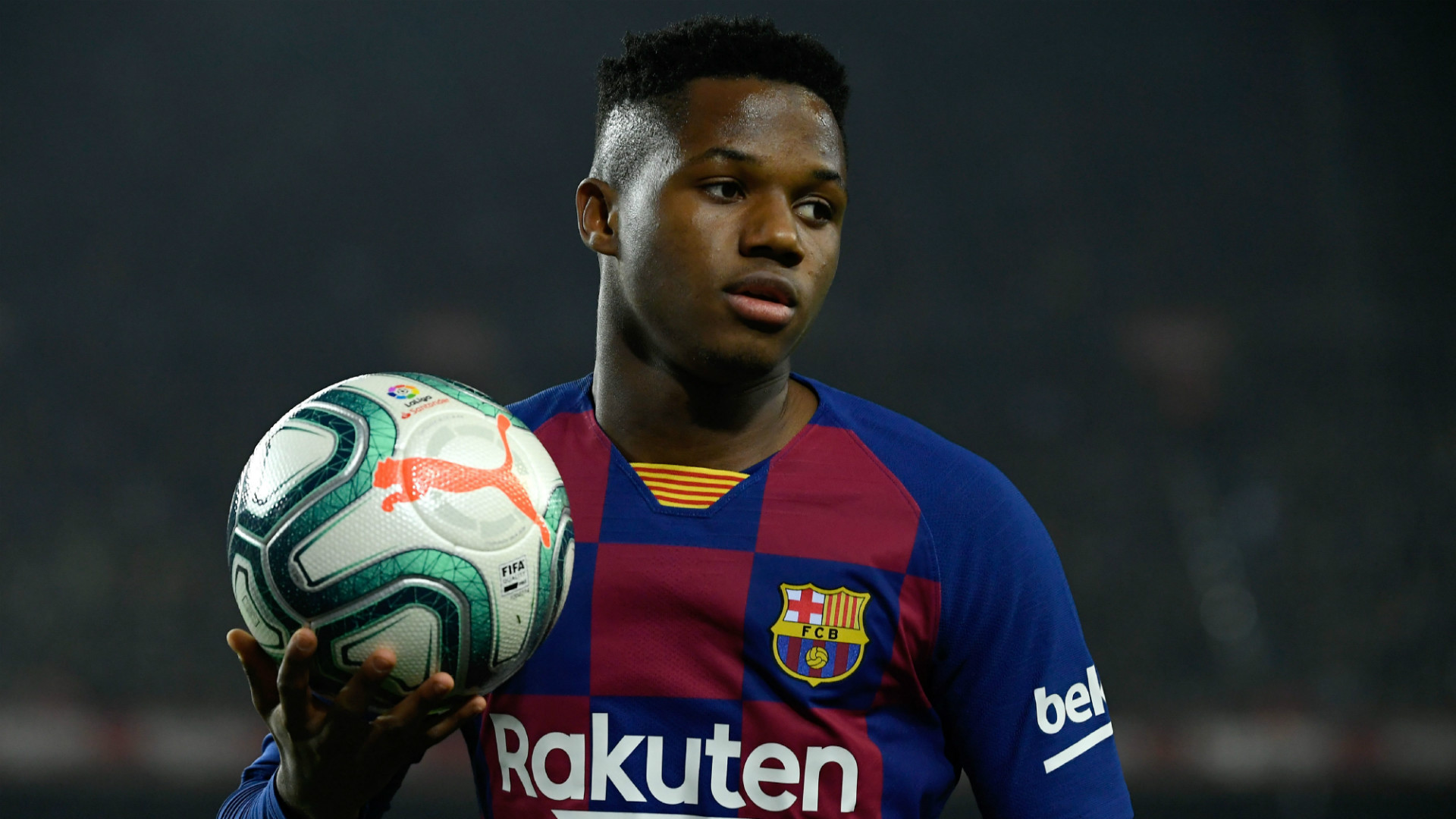 Father Of Barcelona Wonderkid Ansu Fati Responds To Man Utd Transfer Links Goal Com