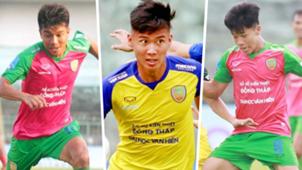 Dong Thap players   Nguyen Thien Chi - Nguyen Cong Thanh - Bach Dang Khoa