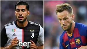 Emre Can Ivan Rakitic Juventus Barcelona