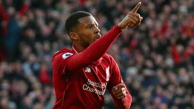 Georginio Wijnaldum Liverpool Bournemouth