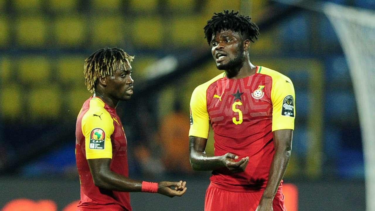 Christian Atsu and Thomas Partey - Ghana