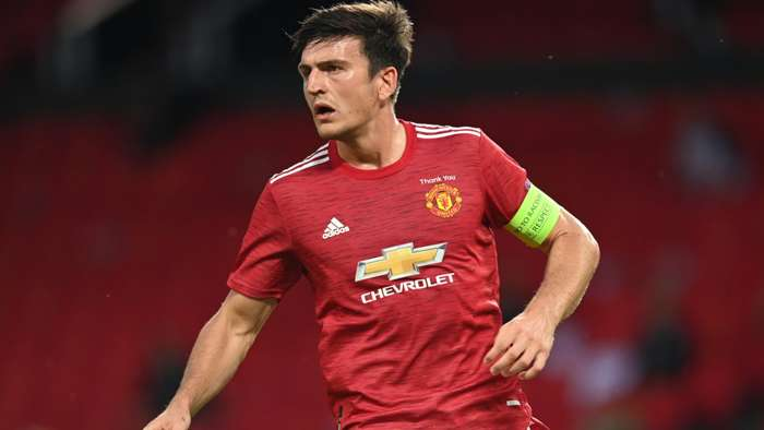Harry Maguire Manchester United 2020-21
