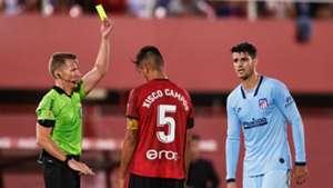 Morata Mallorca Atletico Madrid red card