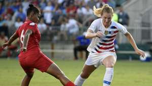 Samantha Mewis USWNT Concacaf WCQ 07102018