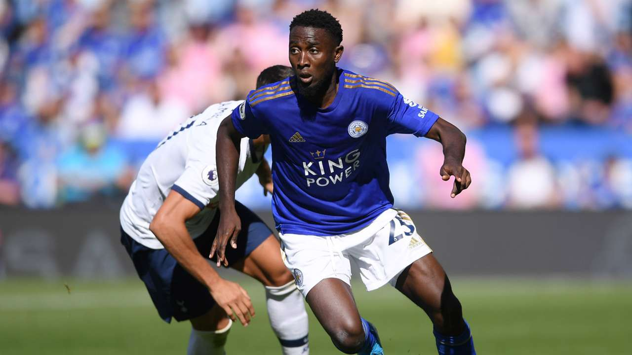 Leicester City's Wilfried Ndidi against Tottenham Hotspur 2019-20