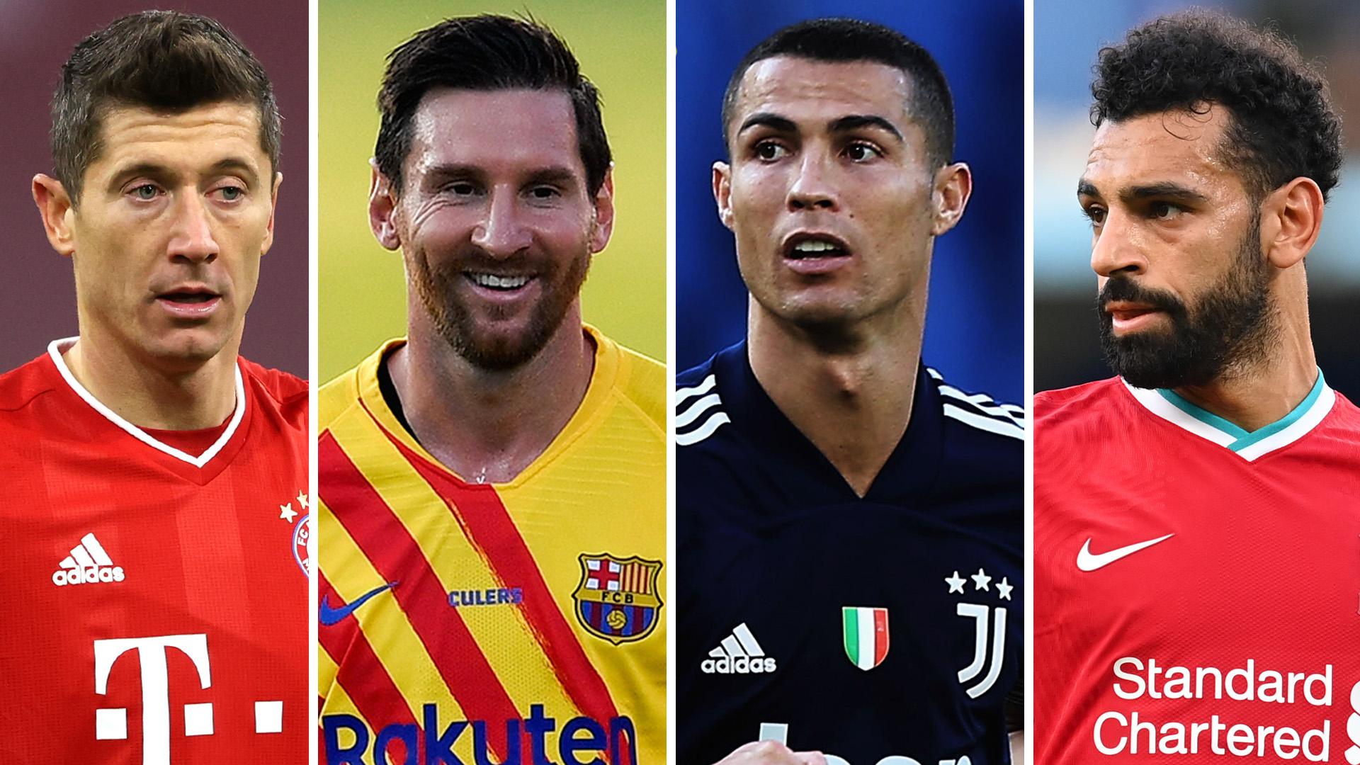Lewandowski, Messi, Ronaldo & Salah all included as FIFA The Best nominees revealed
