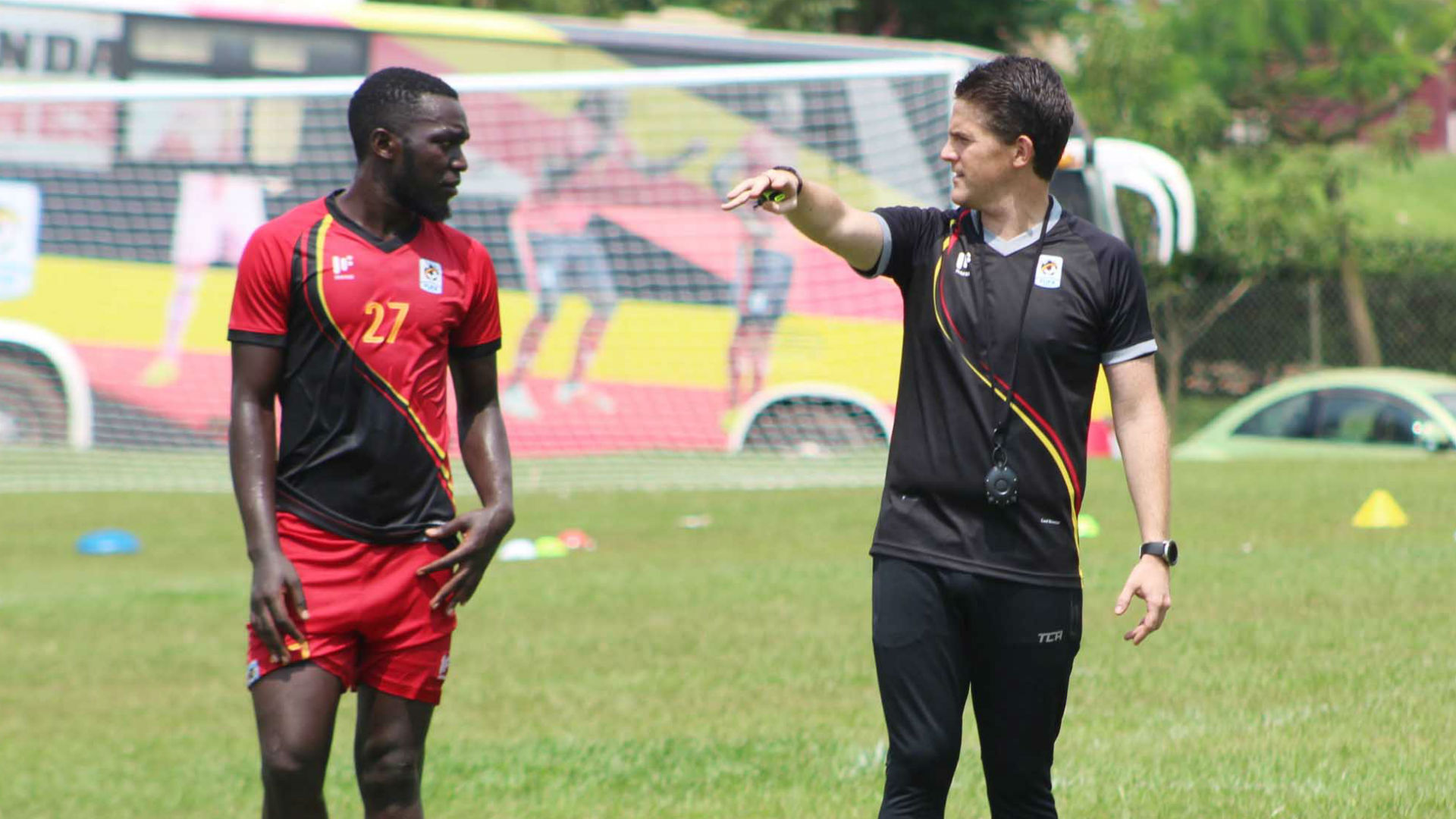 McKinstry explains Bogere, Kayondo and Bobosi's inclusion in Uganda's Chan squad