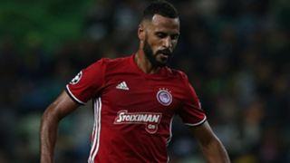 Olympiakos Piraeus midfielder Alaixys Romao