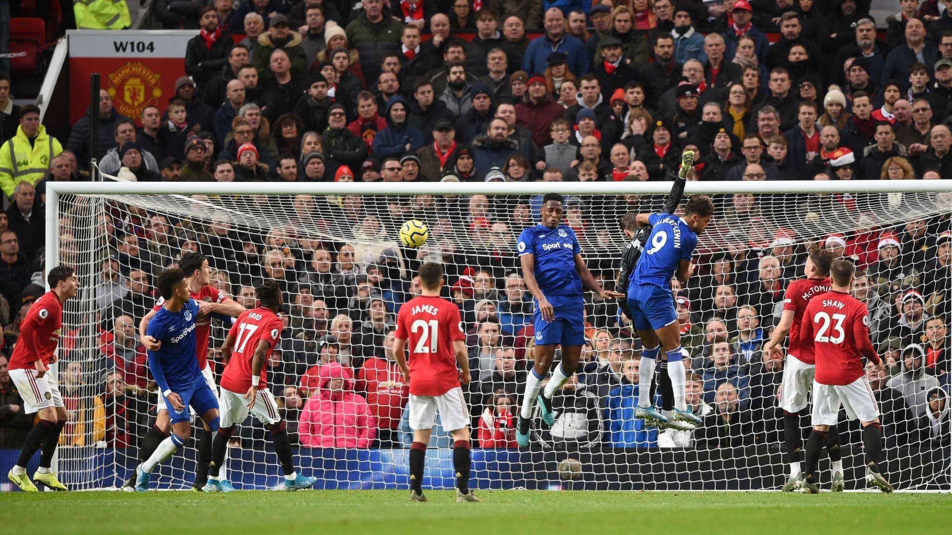 Everton Vs Man United Drama Sepak Bola Di Goodison Park