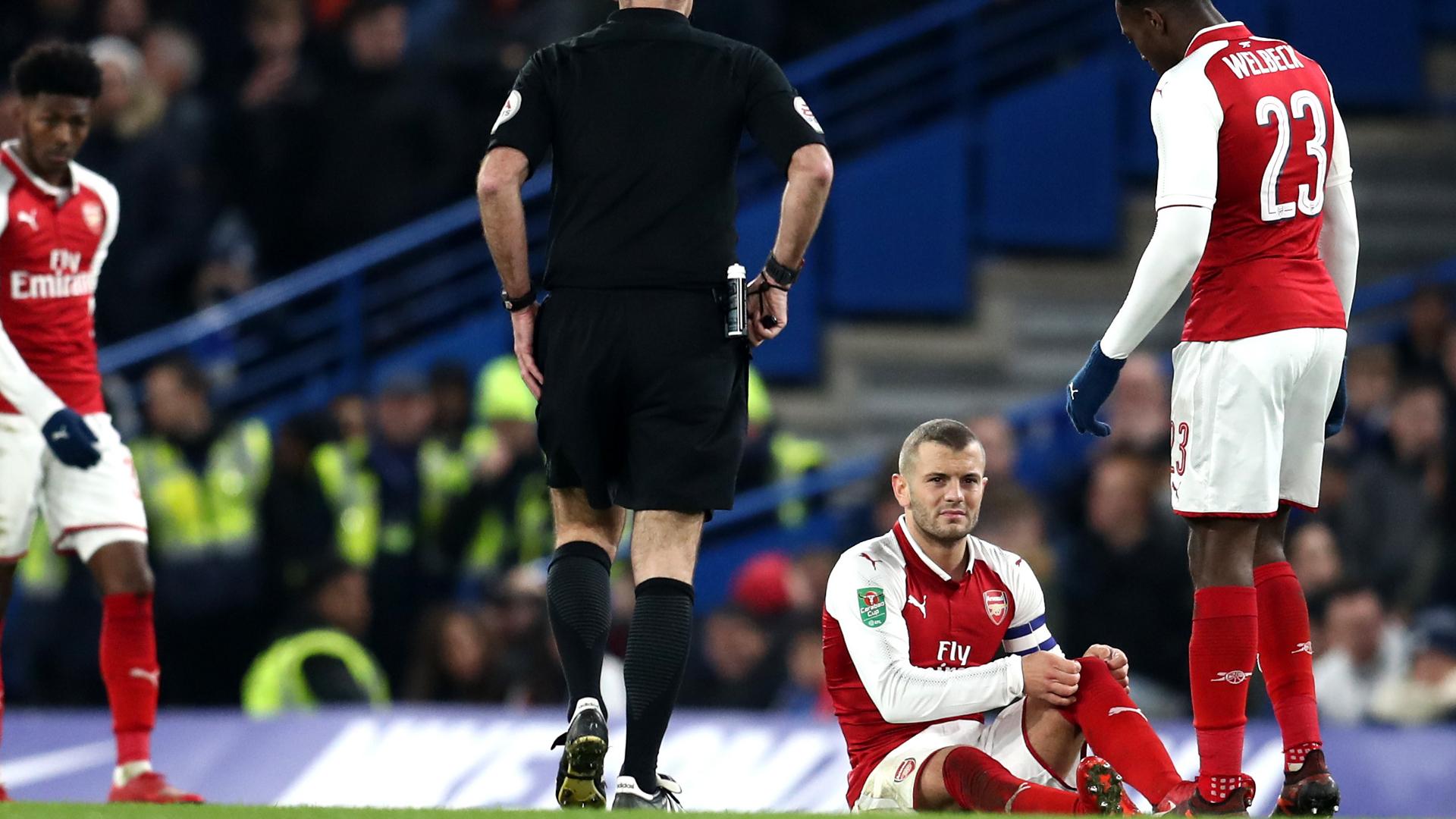 Jack Wilshere Chelsea Arsenal
