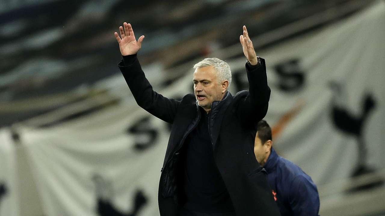 Jose Mourinho Tottenham 2020-21