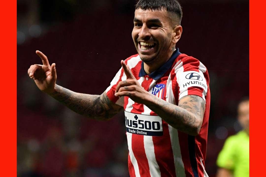 Angel Correa GFX Atletico Madrid