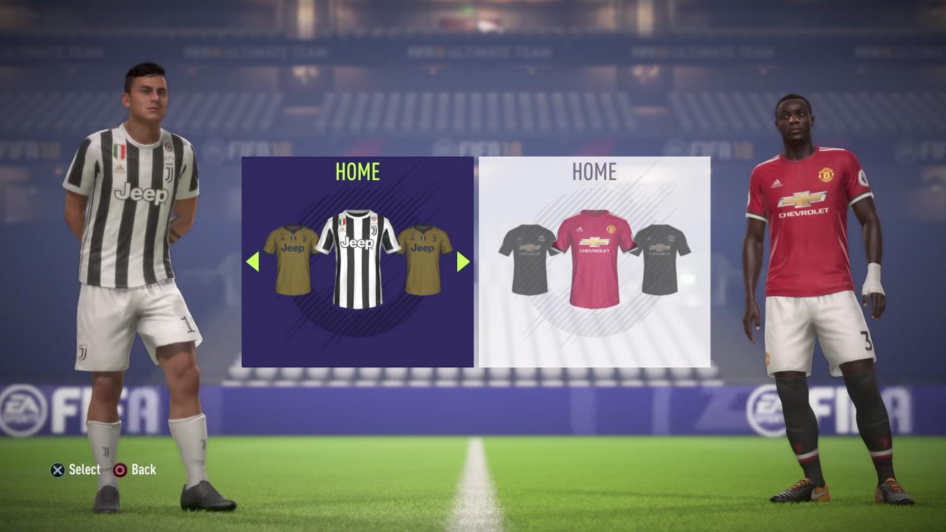 Kick-off FIFA 18