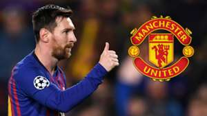 Lionel Messi Barcelona Man Utd