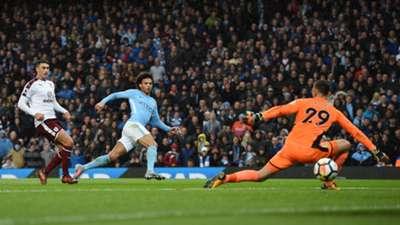 Leroy Sane Manchester City Burnley