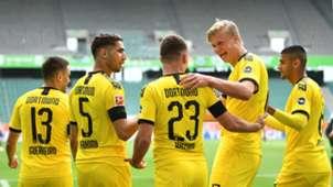 Dortmund goal celebration 23052020