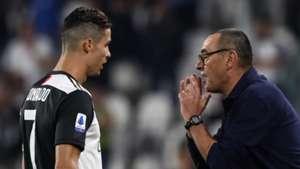 """Cristiano Ronaldo heureux que la Juve joue """"plus offensif"""""""