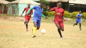 Left Foot league action.
