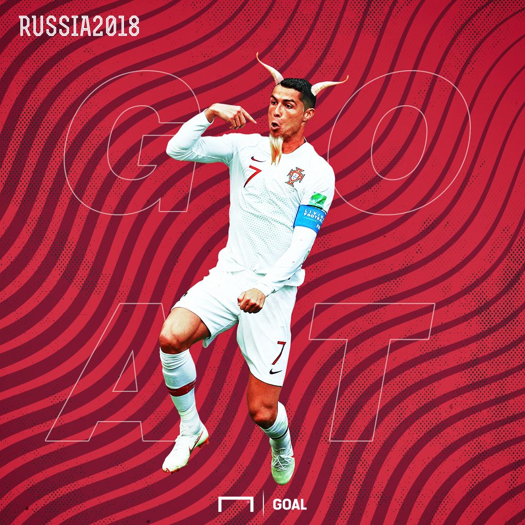 Cristiano Ronaldo GOAT GFX