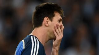Lionel Messi, Argentina, 2014 World Cup final