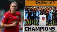 Abbie McManus Manchester United Women split 2019