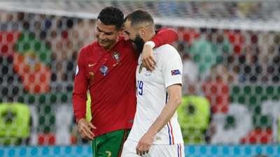 Ronaldo Benzema France Portugal Euro 2020