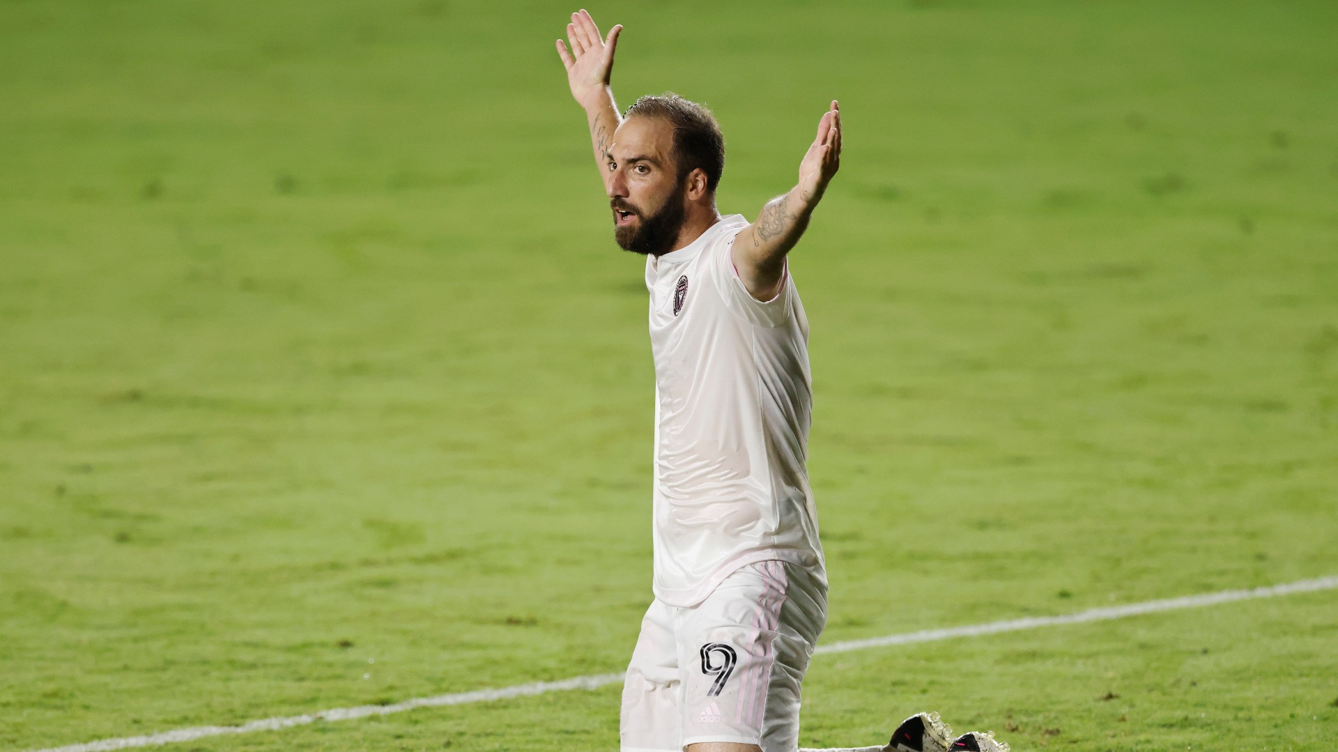 'I thought I could play with a cigarette in my mouth! - Higuain admits to being surprised by standard of MLS