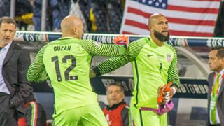 Brad Guzan Tim Howard USA