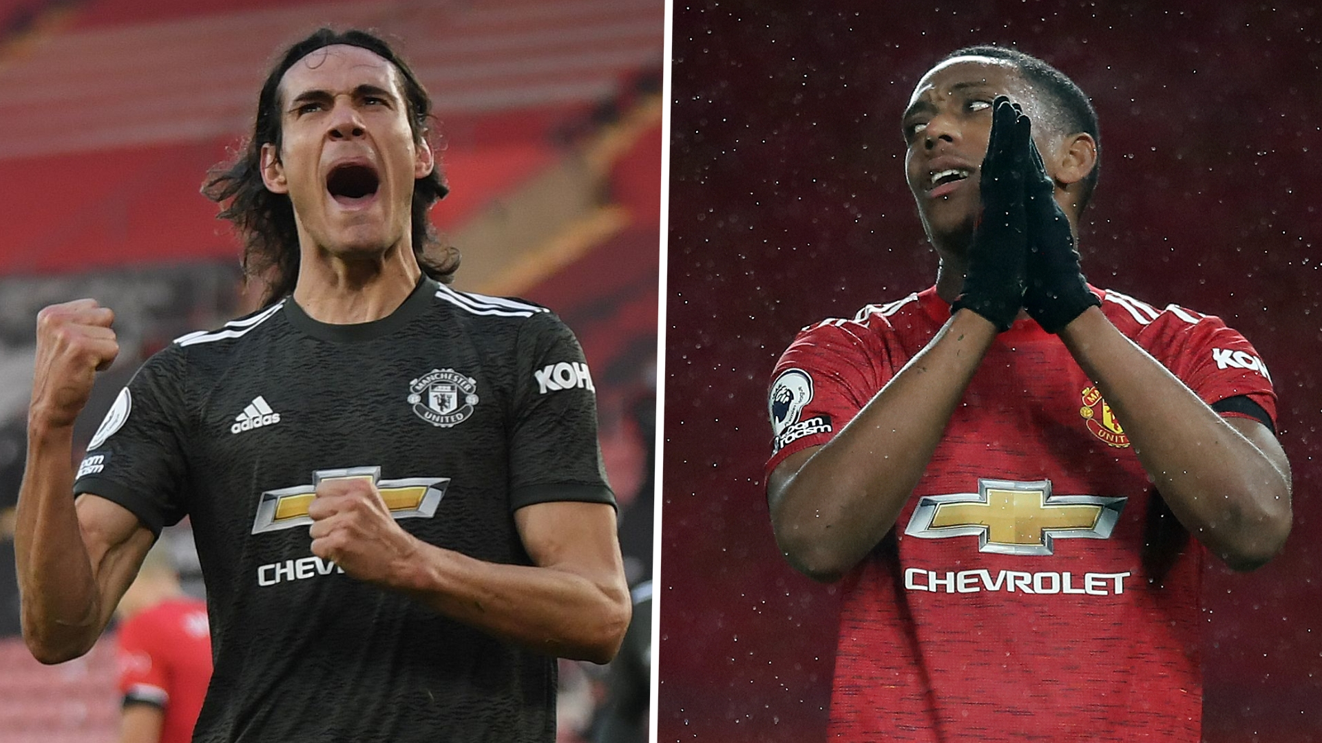 'You don't know which Martial will turn up' - Solskjaer should drop Frenchman for Cavani, says ex-Man Utd star Parker