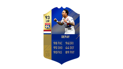 FIFA 18 Ligue 1 Team of the Season Depay