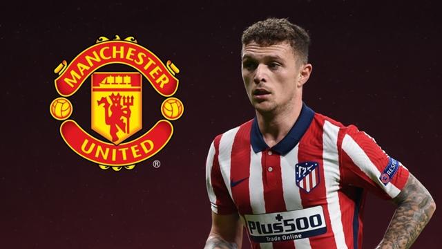 Kieran Trippier/Manchester United composite 2020-21