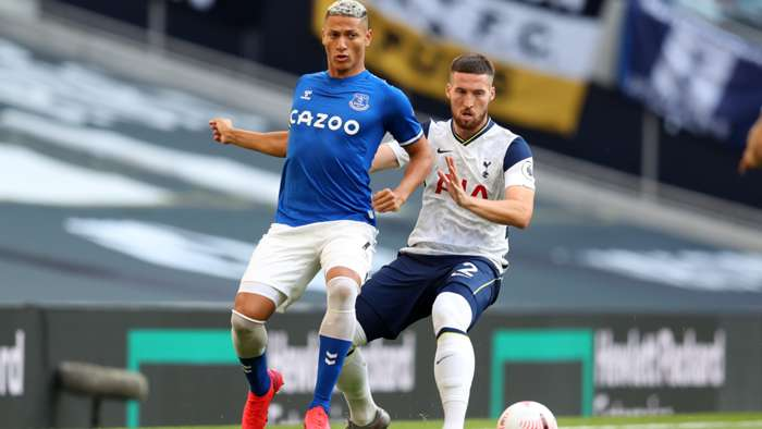 Richarlison Everton Matt Doherty Tottenham 2020-21